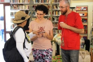 Lançamento de livros